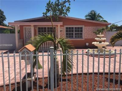 Miami Single Family Home For Sale: 3050 NW 52nd St