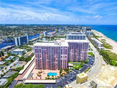 Pompano Beach Condo For Sale: 405 N Ocean Blvd #508