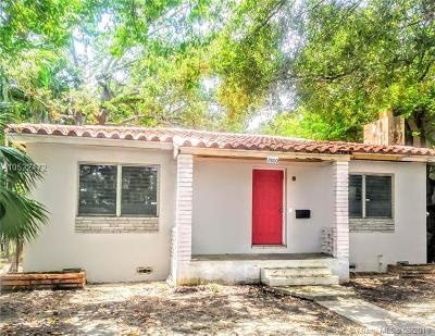 Miami-Dade County Single Family Home For Sale: 2800 Shipping Ave