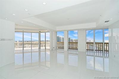Miami-Dade County Condo For Sale: 19707 Turnberry Way #TS-2