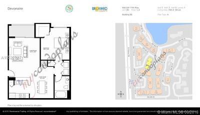 Pembroke Pines Condo For Sale: 655 SW 111th Way #205
