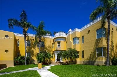 Coral Gables Condo For Sale: 3110 Segovia St #4
