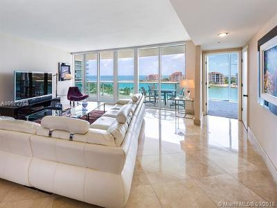 Miami Beach Condo For Sale: 1000 S Pointe Dr #1104