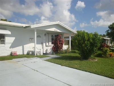 Tamarac Single Family Home For Sale: 4915 NW 47th Ter