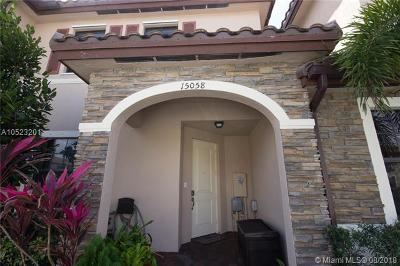 Miami Single Family Home For Sale: 15058 SW 115th Ter