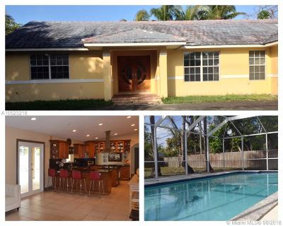 Pinecrest Single Family Home Active With Contract: 13350 SW 82nd Ave