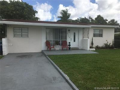 Miramar Single Family Home For Sale: 6125 SW 19th St