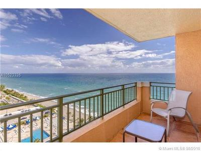 Hallandale Condo For Sale: 2080 S Ocean Dr #1710