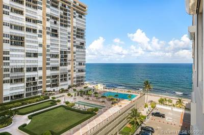 Fort Lauderdale Condo For Sale: 4250 Galt Ocean Dr #9G
