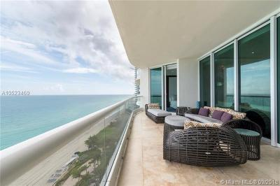 Sunny Isles Beach Rental For Rent: 16051 Collins Ave #1403