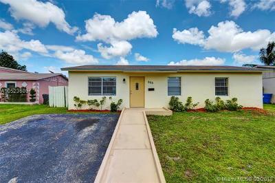 North Lauderdale Single Family Home For Sale: 310 SW 77th Ter