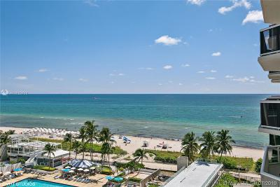Miami Beach Condo For Sale: 4779 Collins Ave #1007