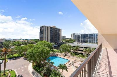 Highland Beach Condo For Sale: 4740 S Ocean Blvd #612