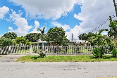 Hialeah Single Family Home For Sale: 6465 W 13th Ave