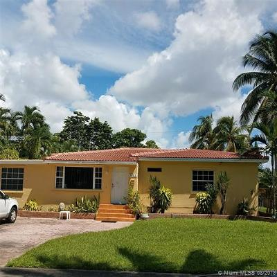 Miami-Dade County Single Family Home For Sale: 1051 Swan Ave
