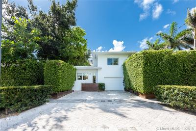 Miami Beach Single Family Home For Sale: 6001 N Bay Rd