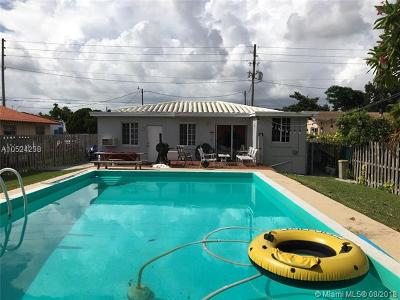 Miami FL Single Family Home For Sale: $399,000