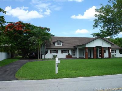 Miami Single Family Home For Sale: 10381 SW 64th St