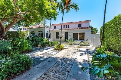 Miami Beach Single Family Home For Sale: 560 W 49th St
