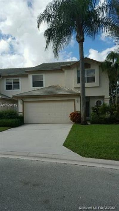 Lake Worth Condo For Sale: 7721 Stone Harbour Dr #4