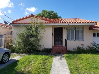Miami Single Family Home For Sale: 2280 SW 2nd Ter