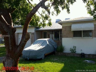 Hollywood Single Family Home For Sale: 1401 S 25th Ave