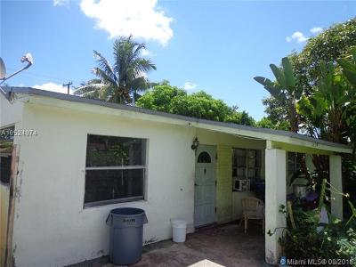 Fort Lauderdale Single Family Home For Sale: 1118 NW 6th Ave