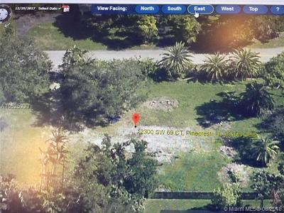 Pinecrest Residential Lots & Land For Sale: 12300 SW 69th Ct