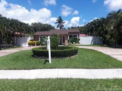 North Miami Single Family Home For Sale