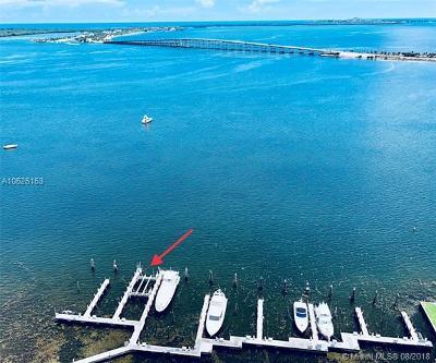 Residential Lots & Land For Sale: 1643 Brickell Av Marina #12