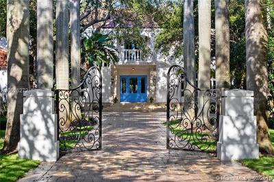 Cocoplum Single Family Home For Sale: 27 Tahiti Beach Island Rd