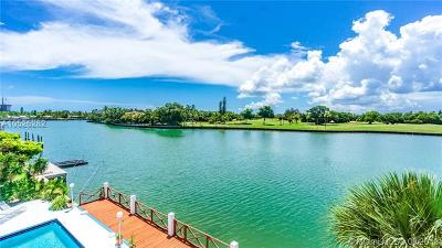 Bay Harbor Islands Condo For Sale: 9180 W Bay Harbor Dr #3B