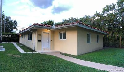 Coral Gables Single Family Home For Sale: 1195 Milan Ave