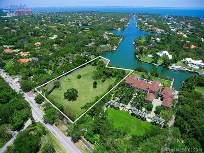 Coral Gables Residential Lots & Land For Sale: 8525 Old Cutler Rd