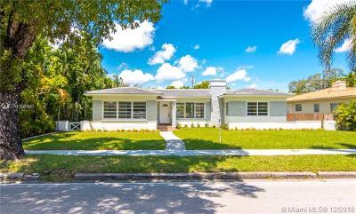 Miami Shores Single Family Home For Sale: 833 NE 96 St