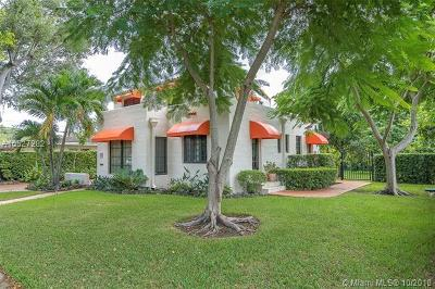 Coral Gables Single Family Home For Sale: 306 SW Camilo Ave
