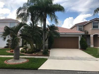 Miramar Single Family Home For Sale: 17478 SW 20th Ct