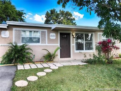 Margate Single Family Home For Sale: 2680 NW 64th Ave