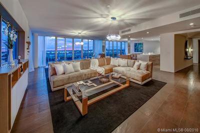 Bay Harbor Islands Condo For Sale: 9940 W Bay Harbor Dr #7G-N