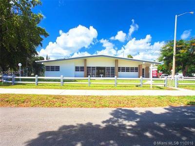 North Miami Single Family Home For Sale: 17100 NE 22nd Ave