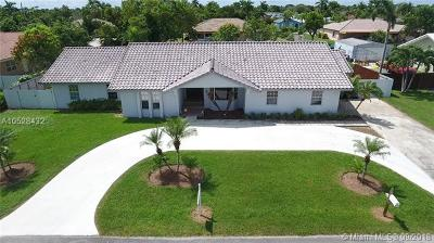 Homestead Single Family Home Active With Contract: 28300 SW 157th Ct