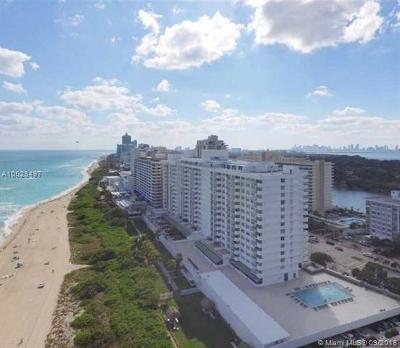 Miami Beach Condo For Sale: 5601 Collins Av #1219