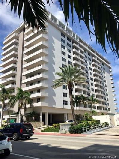 Surfside Condo For Sale: 9225 Collins Ave #708