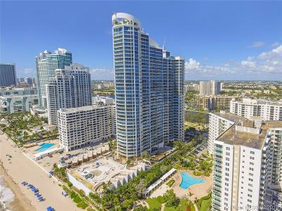 Hollywood Condo For Sale: 3101 S Ocean Dr #502