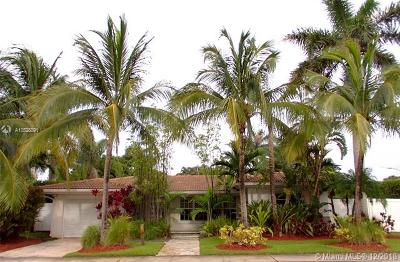 Miami Shores Single Family Home For Sale: 10603 NE 10th Pl