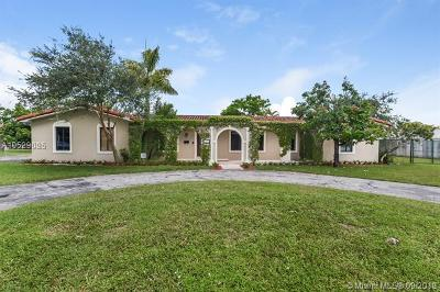 Single Family Home For Sale: 8655 SW 74th Ter