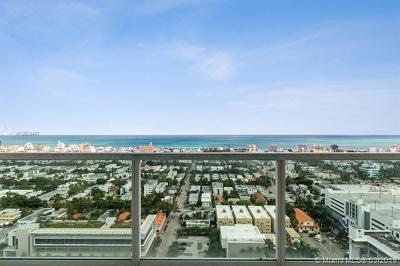 Miami Beach Condo For Sale: 650 West Ave #3104