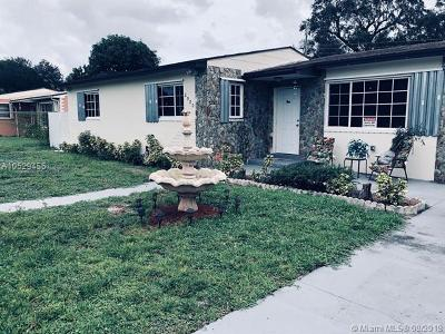 Miami Gardens Single Family Home For Sale: 2980 NW 166th St