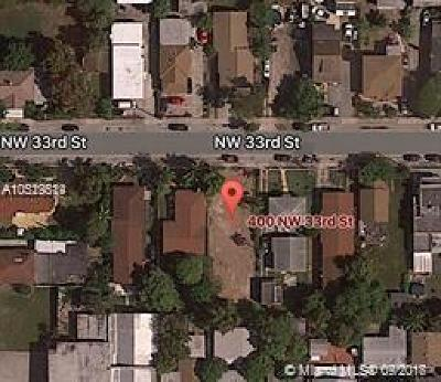 Residential Lots & Land For Sale: 400 NW 33 St