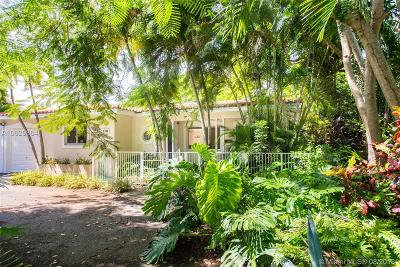 Coral Gables Single Family Home For Sale: 1347 Bird Rd